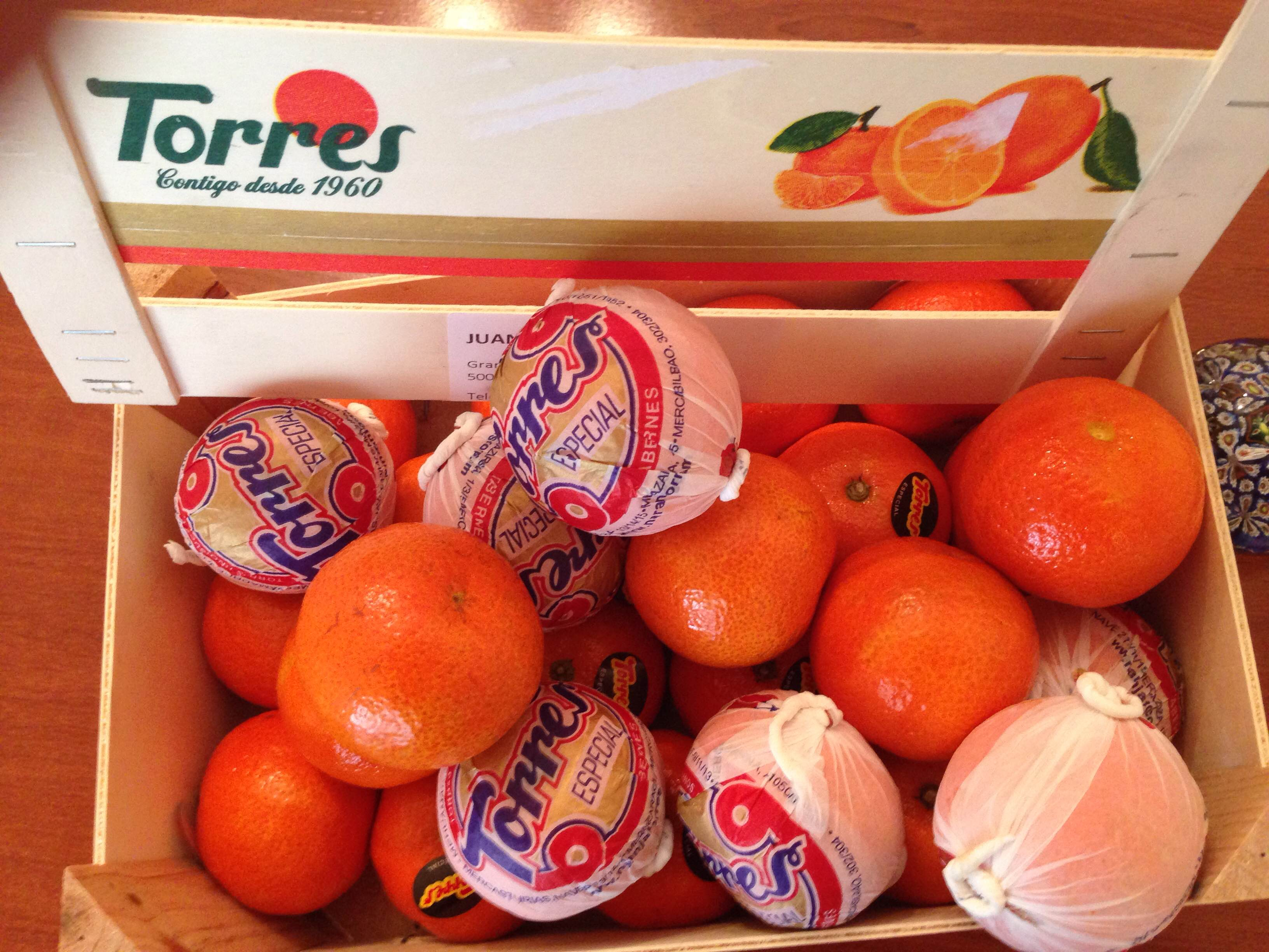 Mandarinas Orunul Torres