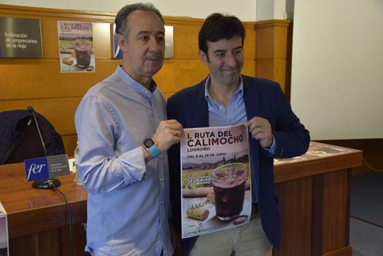 Francisco Martínez-Bergés (FER) y Antonio Domingo Lázaro (Coca Cola) felices con su alianza